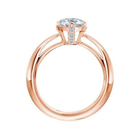 """Ring """"Royal"""" in Rotgold"""