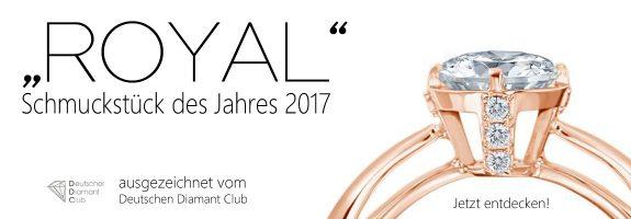 Ring des Jahres 2017 - exklusiv für den Deutschen Diamant Club - DDC