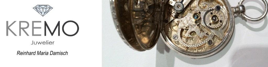 Reinhard Maria Damisch Uhren & Schmuck KREMO kreativ modern Salzburg Banner_Kremo_Vintage_01_