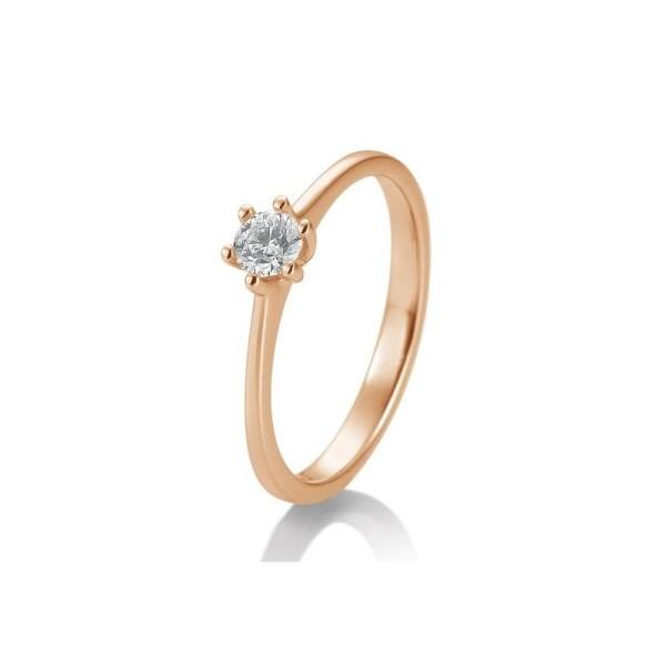 Winkler Fine Jewelry Verlobungsring New York Rotgold