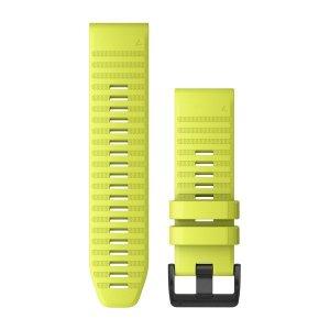 Garmin QuickFit26-Uhrenarmbänder, Moosgrün, Silikon 010-12864-03