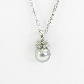 Gellner Perlenschmuck bei Juwelier Winkler kaufen. Gellner Tahiti-Perlen Diamant-Briolettes Halskette jetzt online entdecken.
