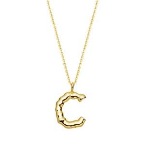 Halskette mit Buchstaben Anhänger C jetzt online kaufen. Kostenlose Lieferung schnell und sicher bei juwelier-winkler.com einkaufen.