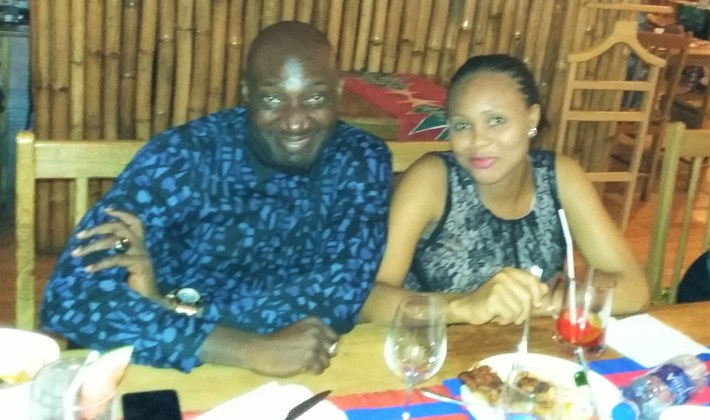 Moses Melaye and wife