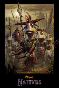 Native poster from Oddworld: Stranger's Wrath. (Silvio Aebischer, courtesy image)