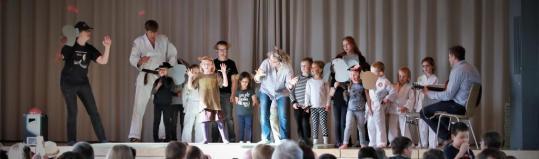 Jahresfeier in der Friedrich- Glück- Halle- Oberensingen
