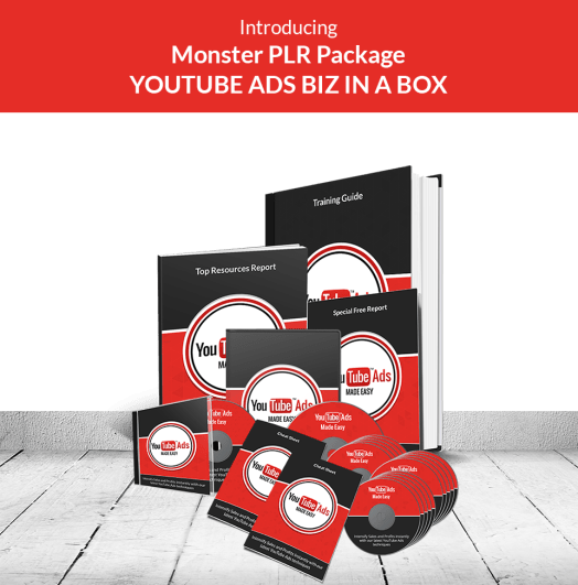 youtube ads plr