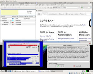 knoppix64parted