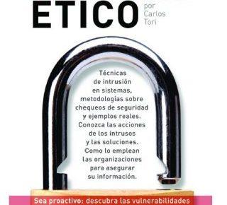 Formación en seguridad con el libro: Hacking Ético