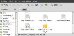 tryecrypt en tmp