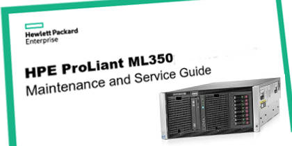 Manual Servidores HP Proliant ML350