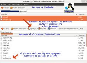 Añadir ficheros a DVD Knoppix 74
