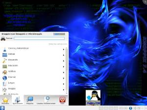 Escritorio Knoppix 7.4 KDE en español600