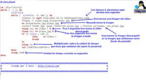 Explicación script wallpaper playa