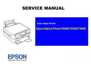 Service Manual Epson TX650