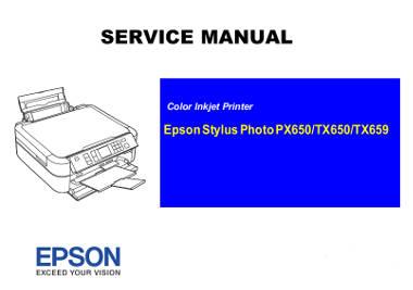 Manuales de Servicio Multifunción Epson de tinta