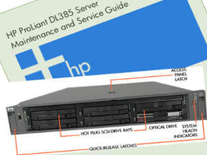 Manual Servidor HP Proliant DL385