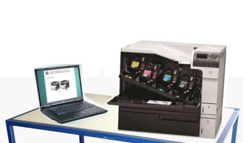 Manuales HP Laserjet Color