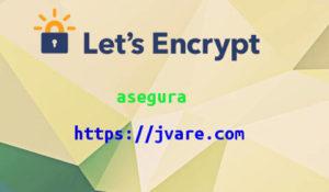 certificado ssl de Letsencrypt