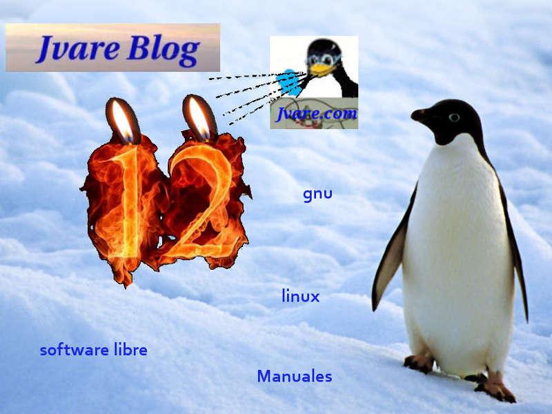 12 años en linea de Jvare Blog