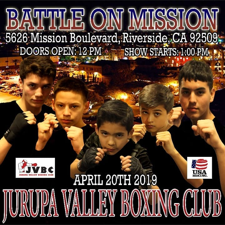 boxing show in jurupa valley