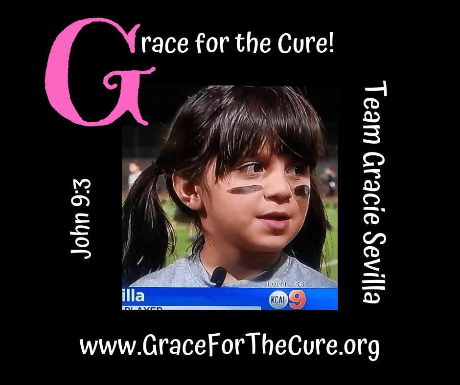 gracie sevilla grace for the cure logo