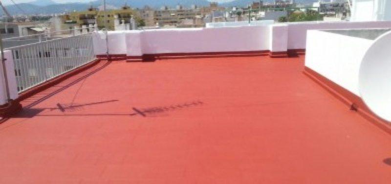 ejemplo de impermeabilización de un techo