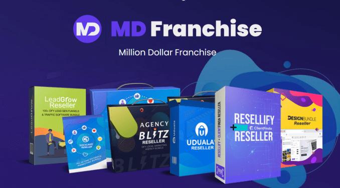 Million Dollar Franchise Software Bundle - Review FrontEnd