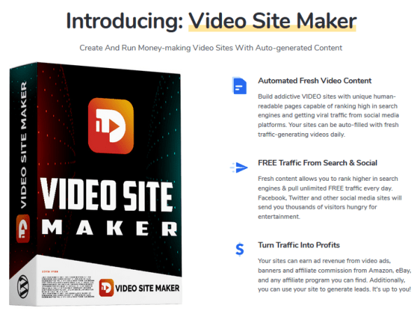 Video Site Maker WordPress Plugin & Theme