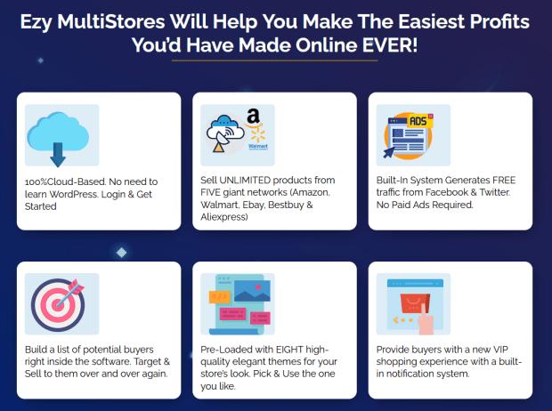 Ezy MultiStores: Worlds #1 Ecom Affiliate Store Builder Software!