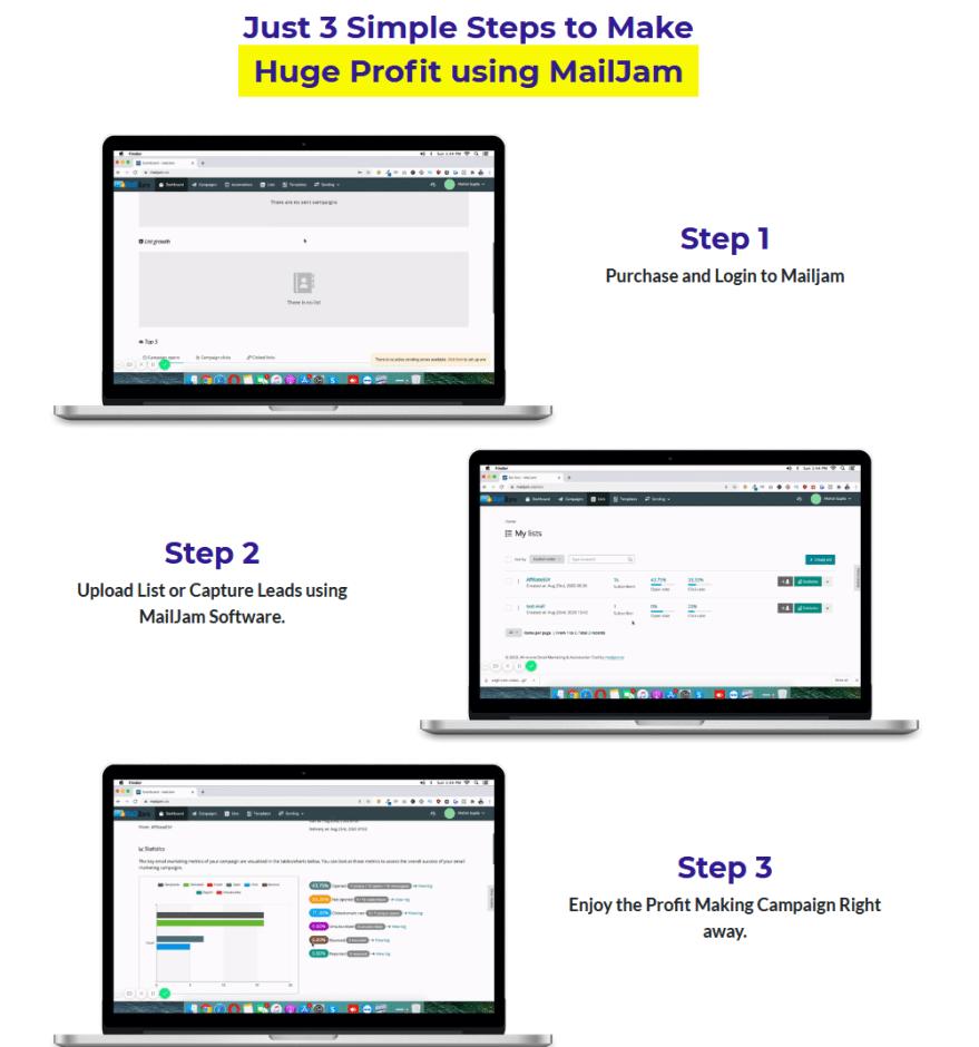 MailJam Software Review & OTO By Uddhab Pramanik