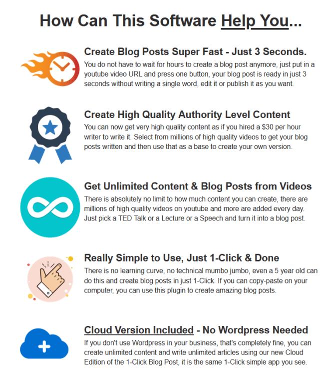 1-Click Blog Post WP Plugin Review By Ankur Shukla