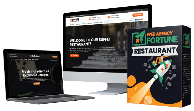 Web Agency Fortune Restaurant Website Theme & Tempaltes Review By Dawn Vu