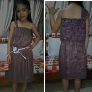 Lane's new dress
