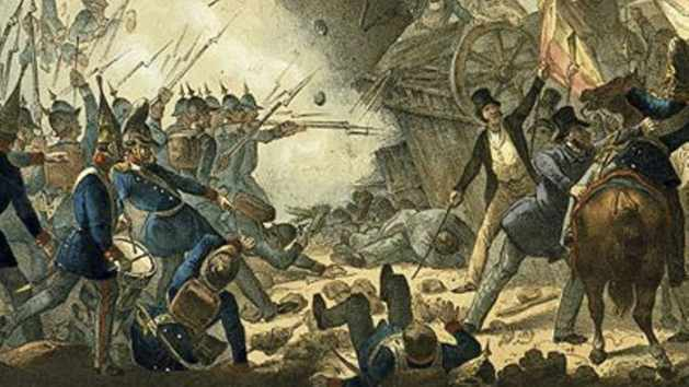 The Crushing of the German Revolution 1849