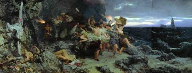 Tiberius on Capri