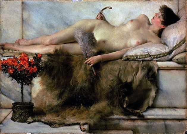In the Tepidarium, by Sir Lawrence Alma Tadema