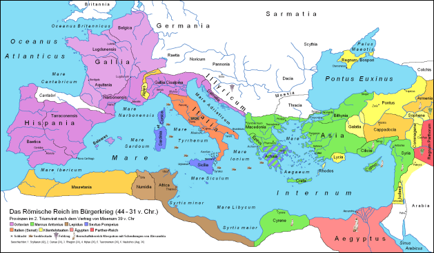 The Pact of Misenum - 39 BC