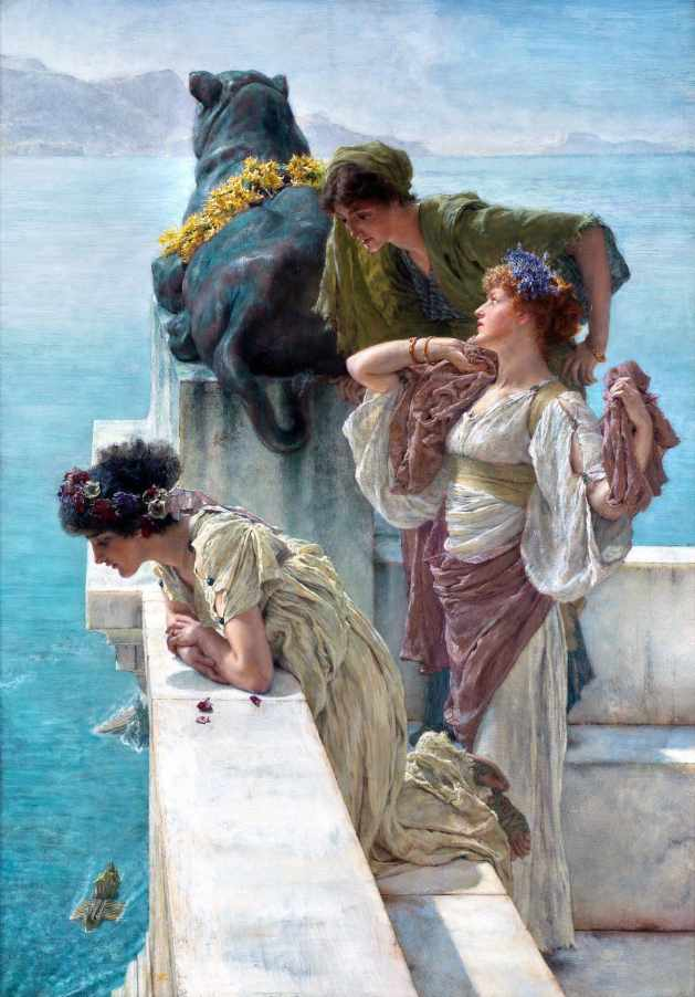 View From The Villa Jovis by Sir Lawrence Alma-Tadema