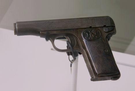 Gabrillo_Princip's_pistol FN Model 1910