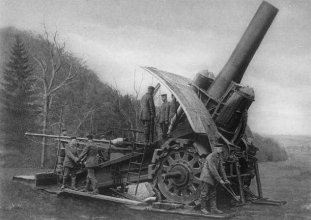 Krupp 420 mm Howitzer