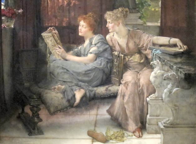 Comparison' by_Lawrence Alma Tadema  -Cincinnati Art Museum