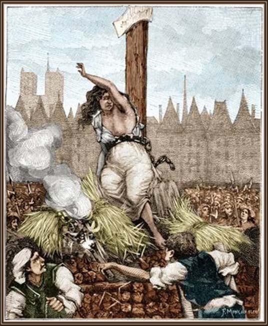 Execution of La Voisin