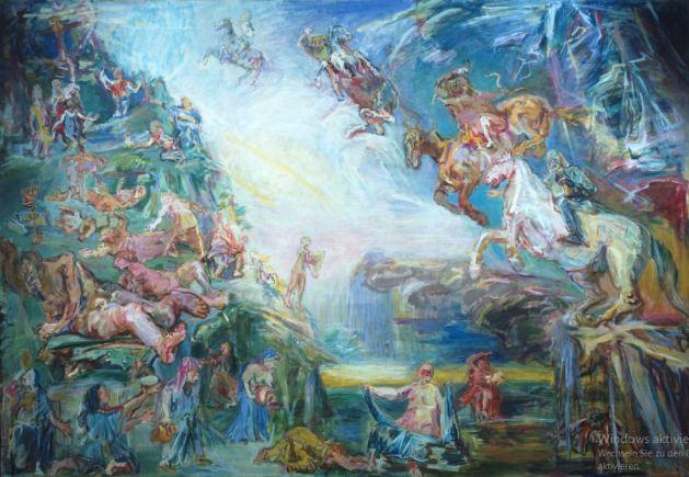 "Oskar Kokoschka - The Prometheus Tryptich ""Apokalypsis"""
