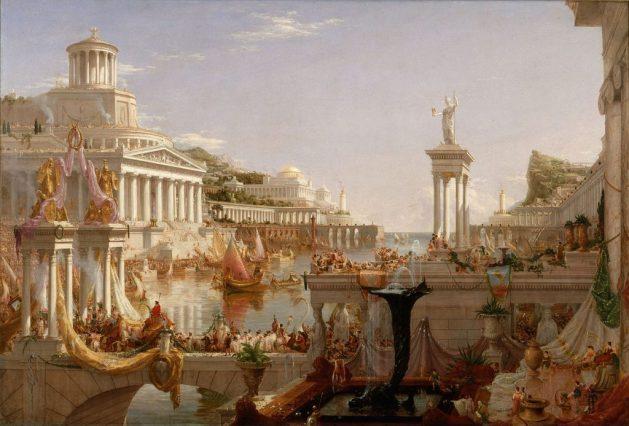 Thomas Cole  - The Consummation of the Empire