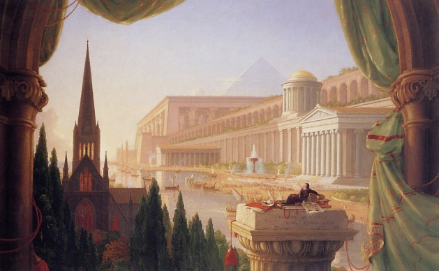Thomas Cole - The Dream of the Architect