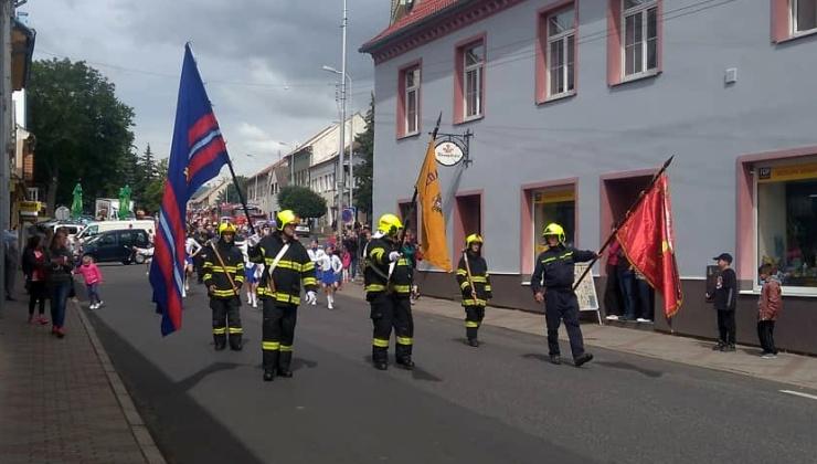 VIDEOREPORTÁŽ:  Dobrovolní hasiči v Postoloprtech pojali velkolepě oslavy 150 let od svého založení