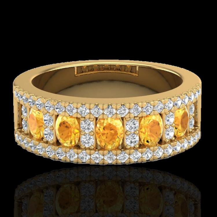 round platinum sabrina citrine jewelry with ring diamond gemvara