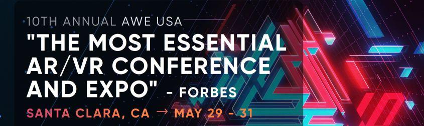 AWE USA May 29-31 Santa Clara, CA