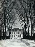 David Adler, Mr/s. Charles A Stonehill, Glencoe, Illinois, 1911. RAZED in the 1960s.
